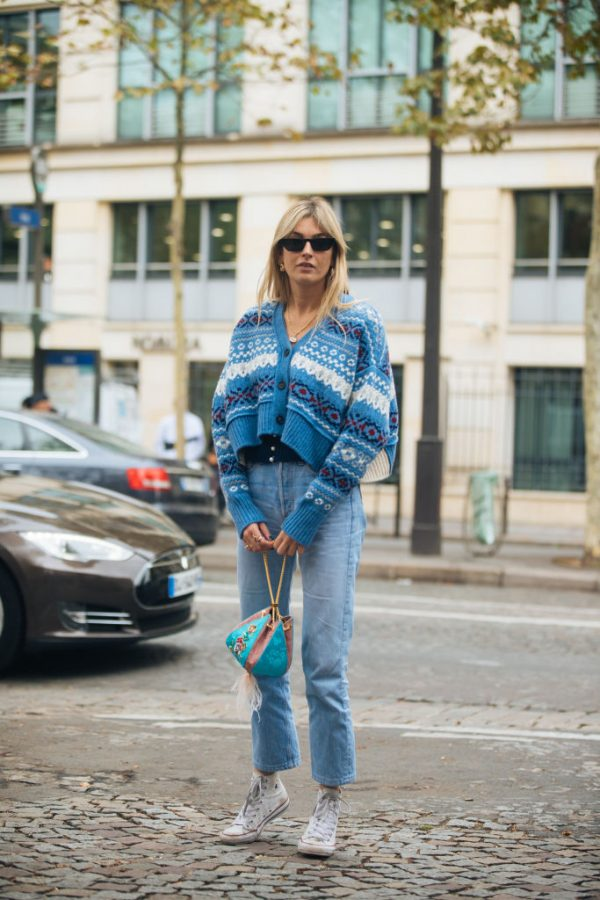 Tendenze autunno 2020 look cardigan
