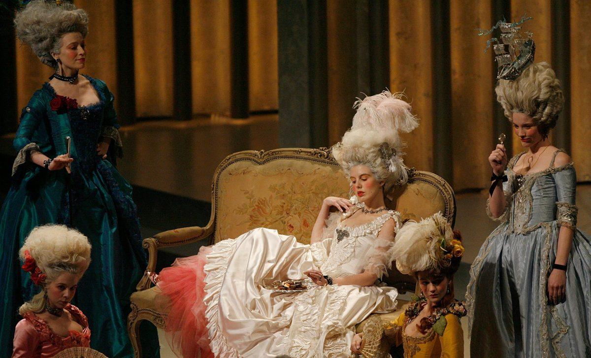 Una rappresentazione di Maria Antonietta sul palco degli Oscar del 2007