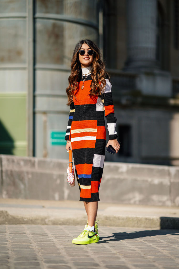 Inverno 2021 tendenze color block