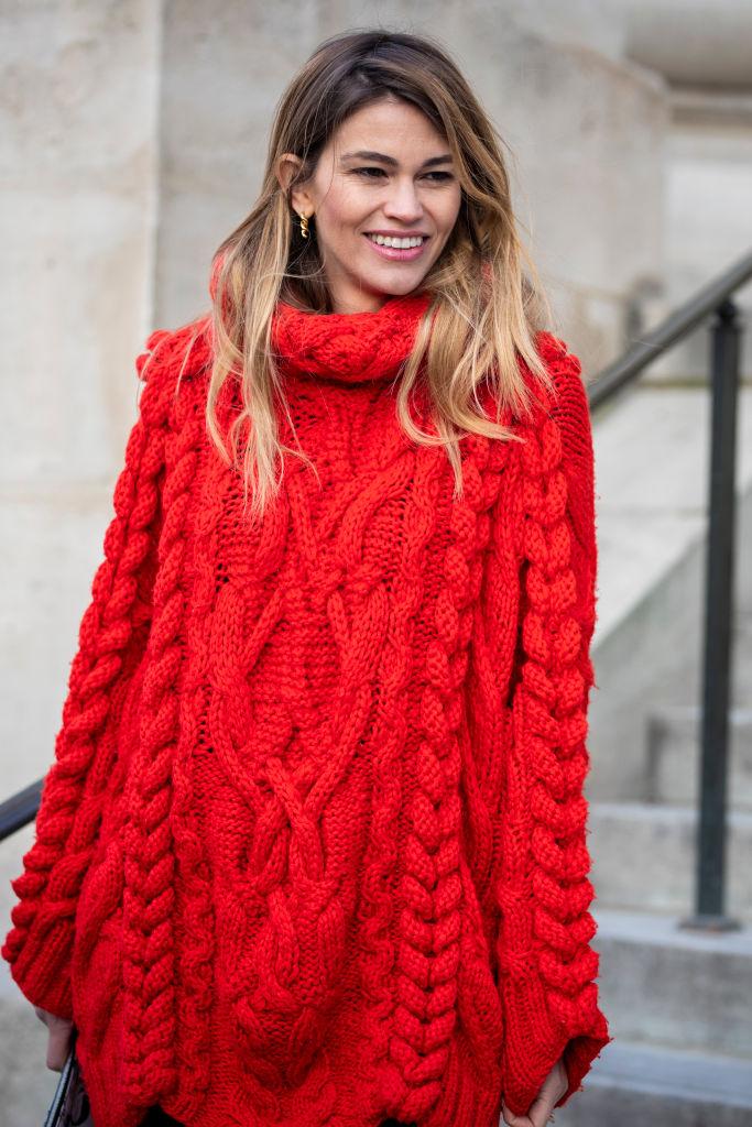 Look inverno 2021 maxi-maglioni knitwear