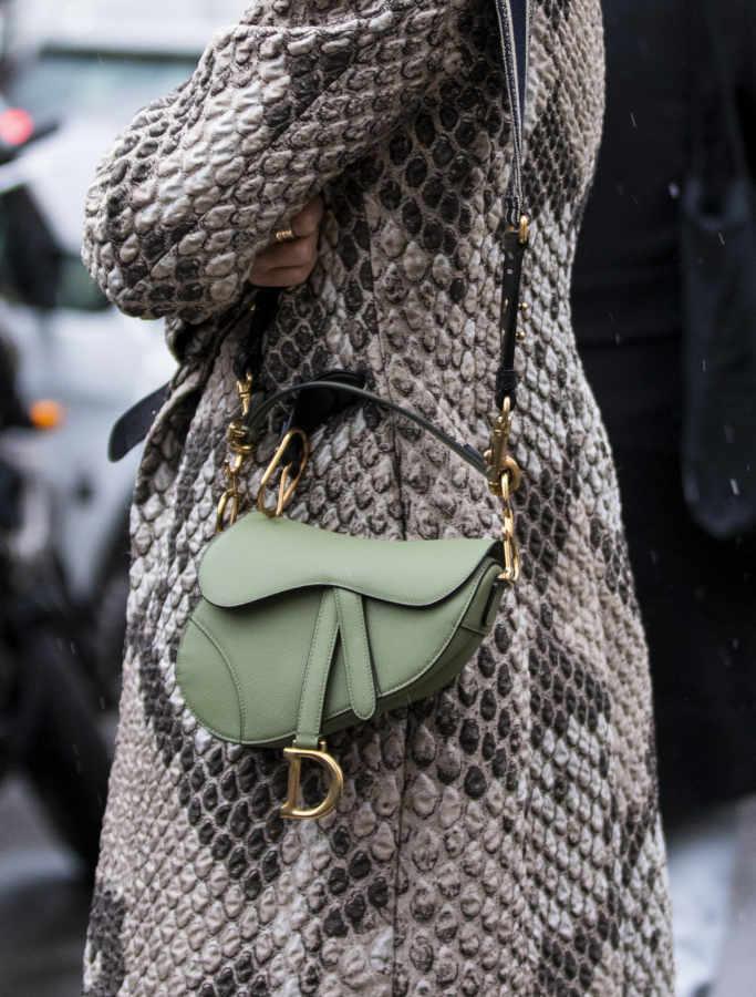 Saddlebag Dior per l'inverno 2021