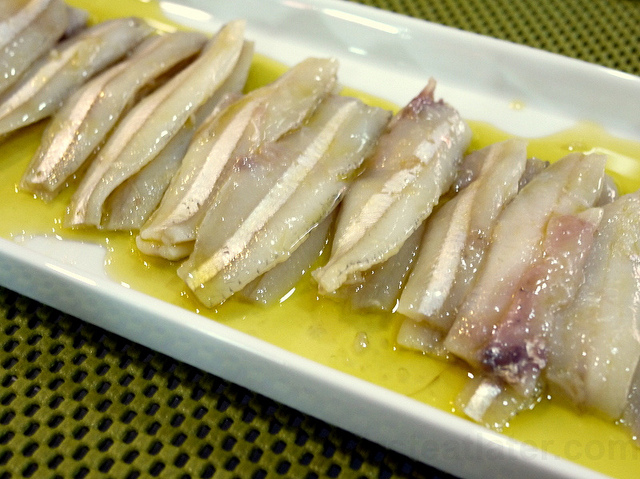Alici marinate agli agrumi