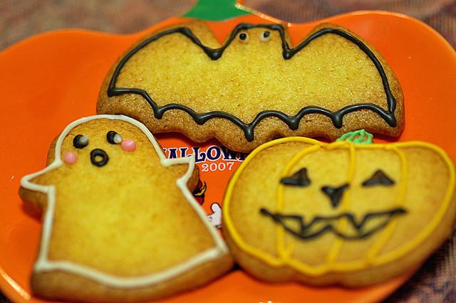 Biscotti alla zucca per Halloween