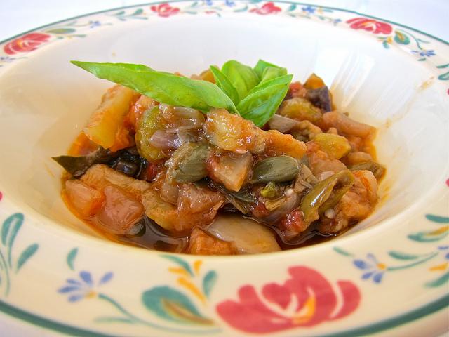 Caponata siciliana ricetta