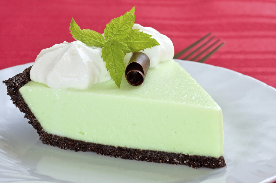 Cheesecake alla menta ricetta