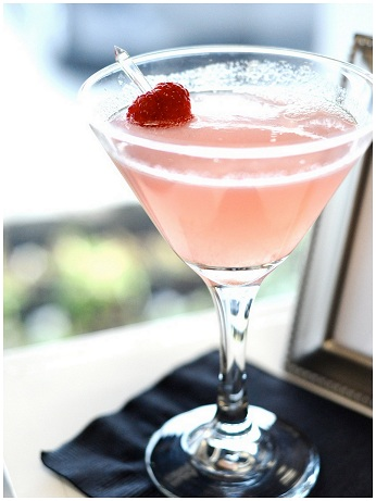 Cocktail rosa san valentino 2012