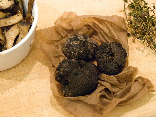 Conservare tartufo nero