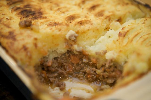 Cottage pie o pasticcio inglese di carne