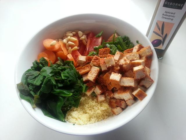 Cous cous tofu e verdure