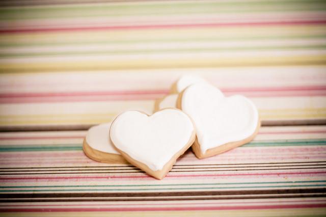 Cuore di biscotto
