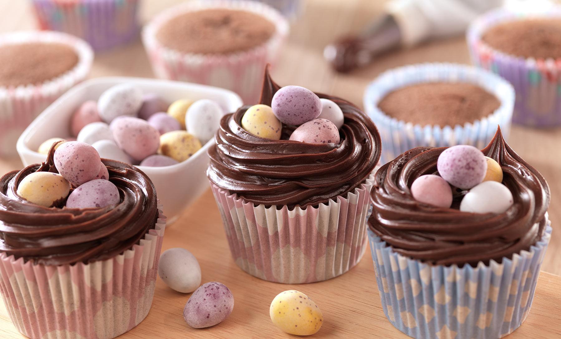Cupcakes con ovetti