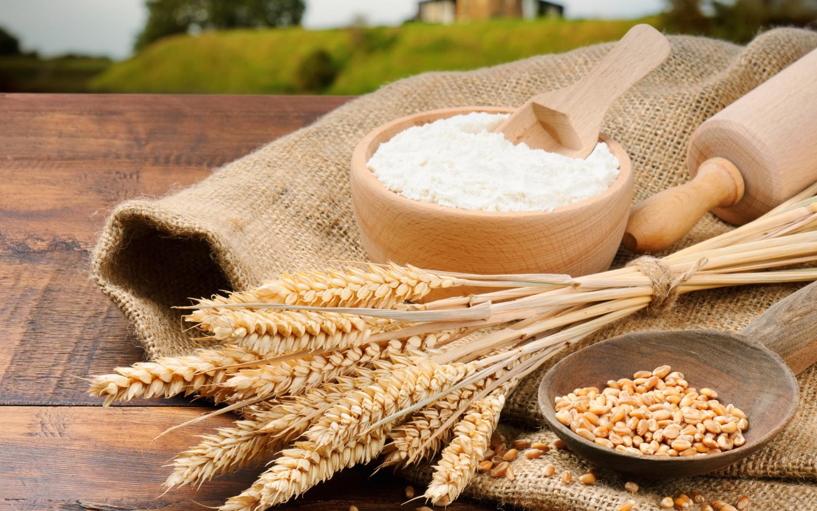 Diversi tipi di farina