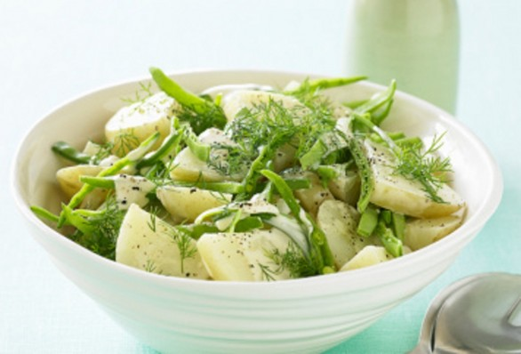 Fagiolini e patate all'insalata