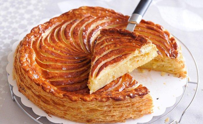 Gallette du rois mele e cannella