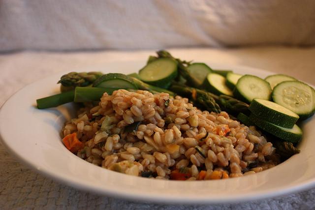 Kamut con asparagi