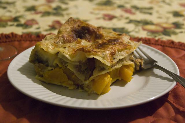 Lasagna alla zucca ricetta