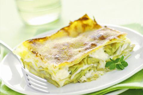 Lasagne con crema di carciofi ricetta
