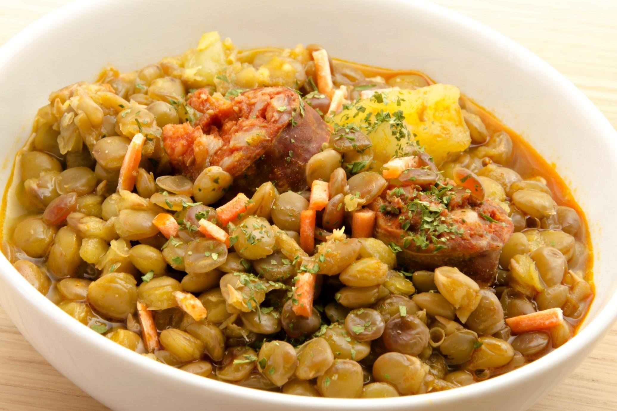Lenticchie al curry