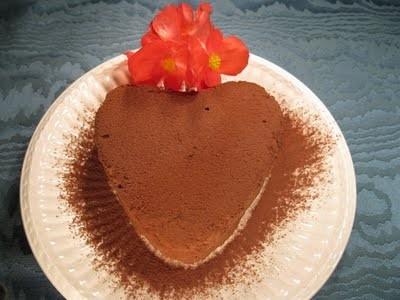 Marquise al cacao per San Valentino