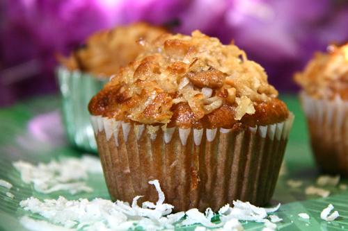 Muffin al cocco la ricetta
