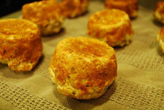 Muffin di patate e pancetta