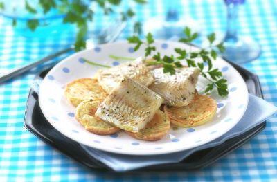 Nasello forno patate