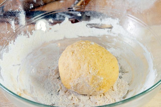 Palla di pasta per ravioli