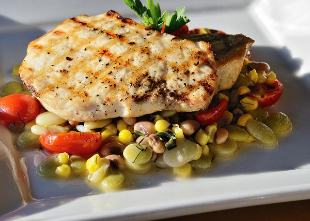Pesce spada con fave
