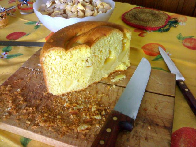 Plumcake parmigiano e pancetta