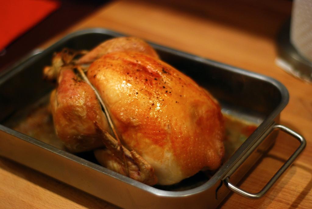 Pollo arrosto al forno