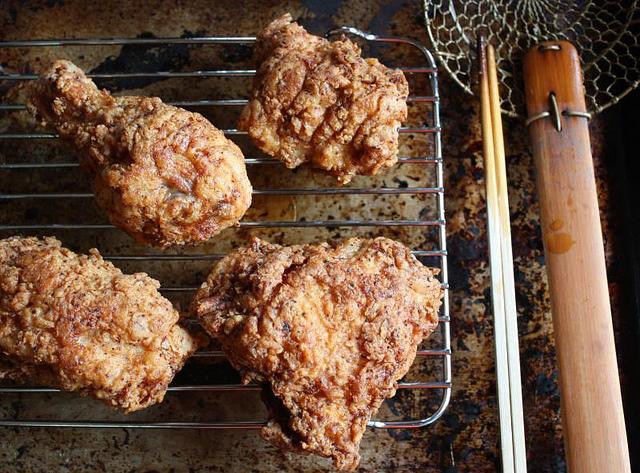 Pollo fritto alla coreana
