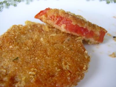 Pomodori in pastella
