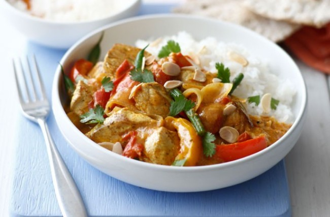 Ricetta tacchino al curry