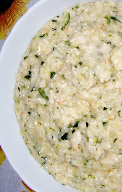 Risotto Zucchine e Polpa di Granchio
