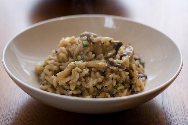 Risotto ai funghi ricetta
