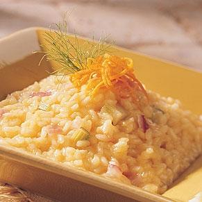 Risotto arancia.ricetta