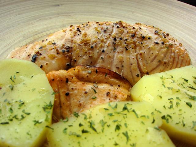 Sformato di salmone