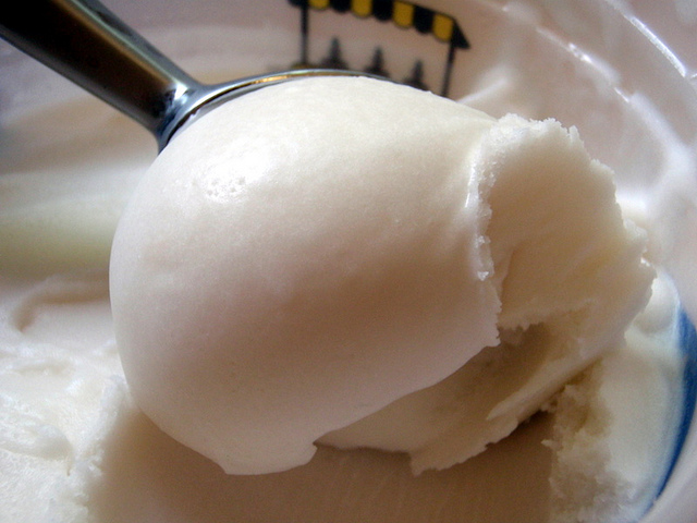 Sorbetto al lime