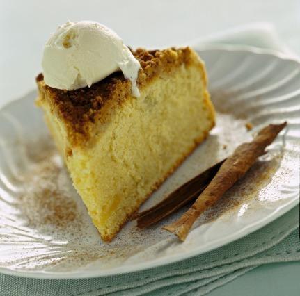 Streuselkuchen (torta con crosta alla cannella)