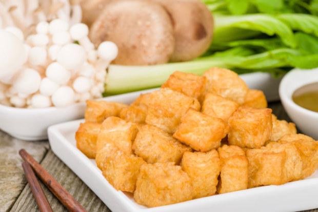 Tofu in pastella