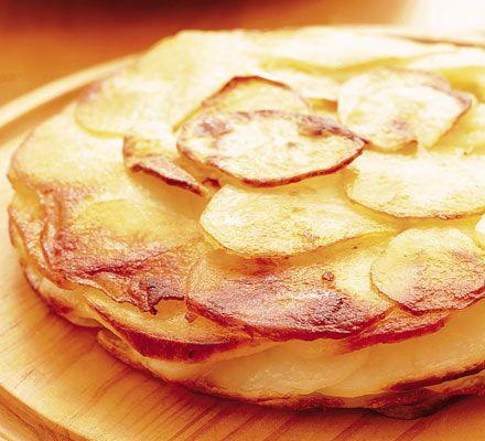 Torta di patate e salame