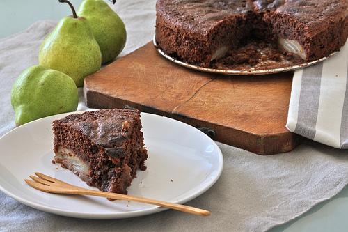 Torta di pere e cioccolato ricetta