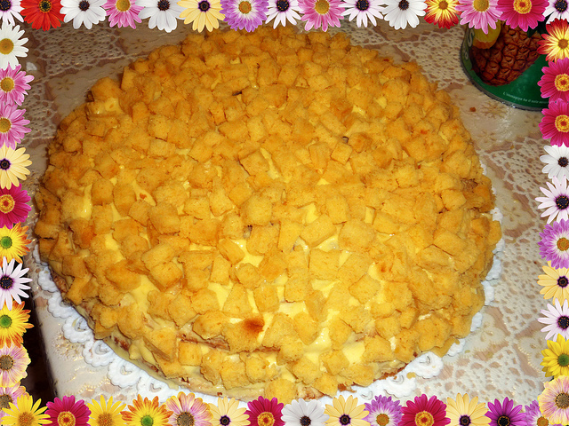 Torta mimosa con il Bimby