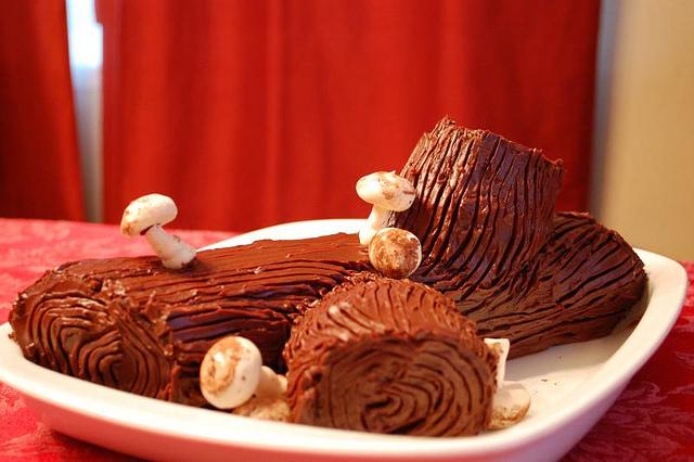 Tronchetto di cioccolato 30