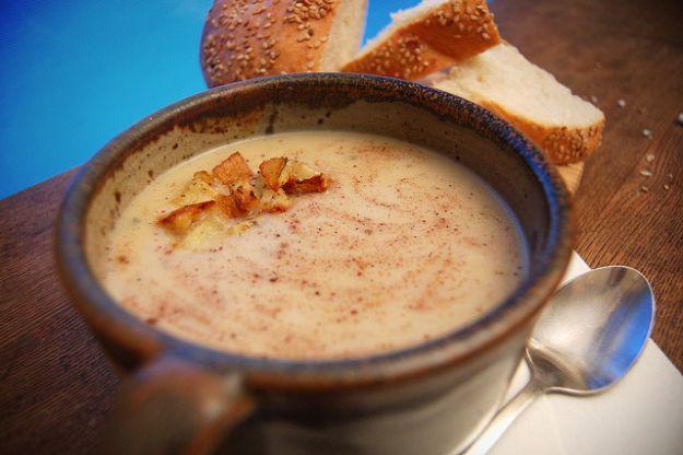 Zuppa con pane raffermo