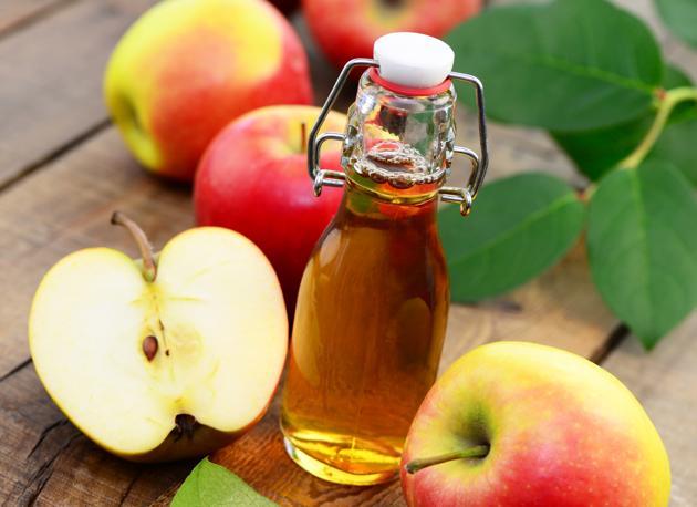 aceto di mele come condimento