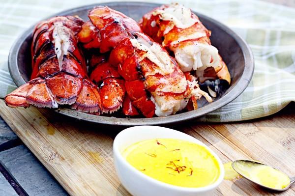 aragosta grigliata con salsa al limone