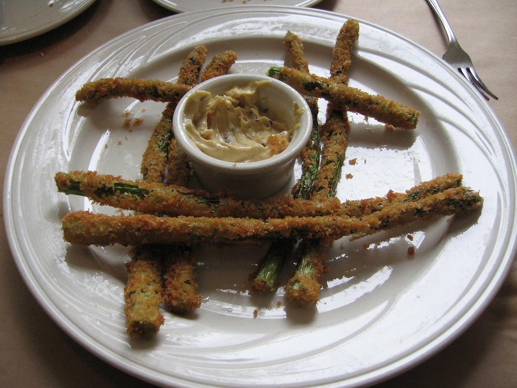 asparagi fritti ricetta