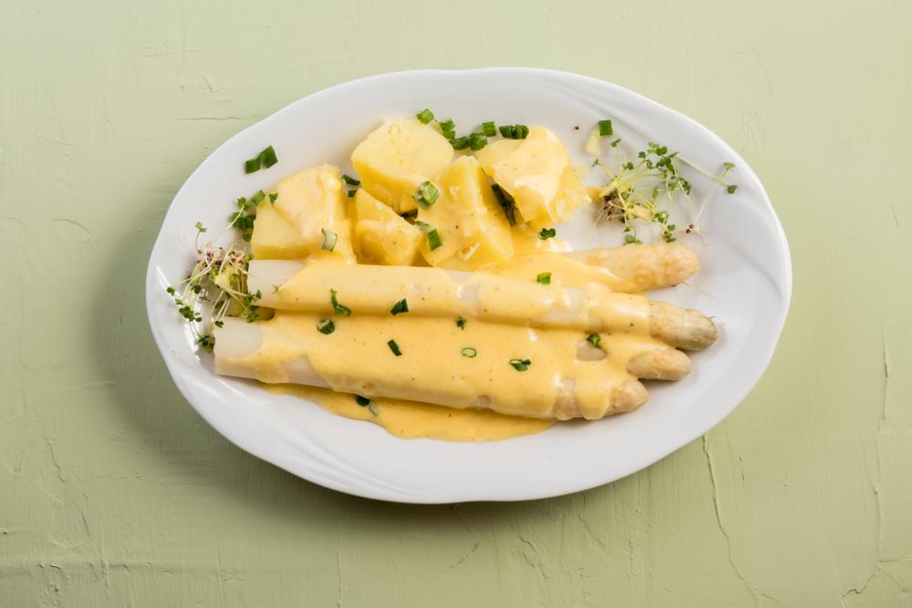 asparagi zabaione