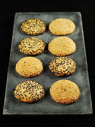 biscotti al sesamo ricetta